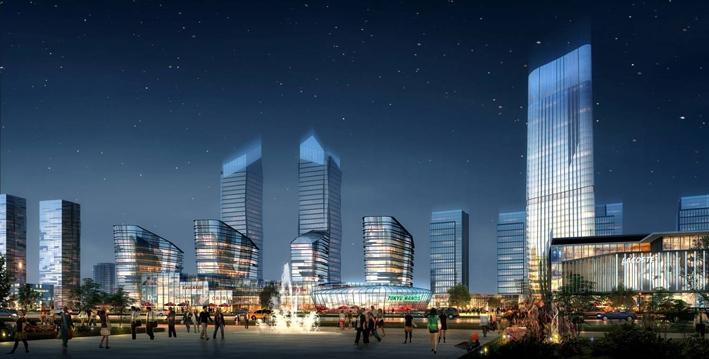 乐山青江新区发展规划视频详解 新乐山城市综合体