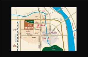 邦泰国际社区区位图