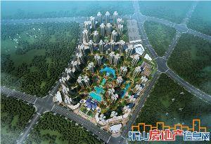邦泰国际社区效果图