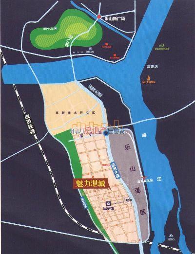 冠英魅力港城区位图_冠英魅力港城位置在哪里?
