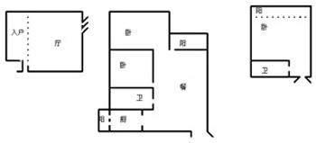 满庭芳1期144㎡3跃4跃5经典花园洋房