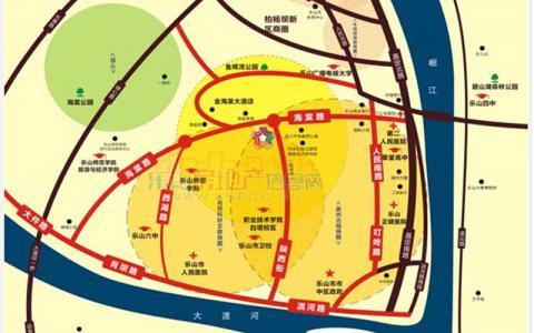 时代青江写字楼区位图
