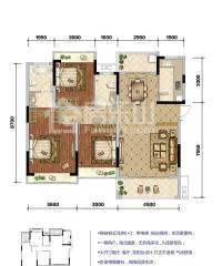 鸿通凤凰国际洋房户型图A2