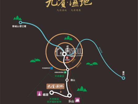 九宾湿地交通图