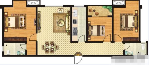 金港湾B1-3室2厅1卫-0㎡