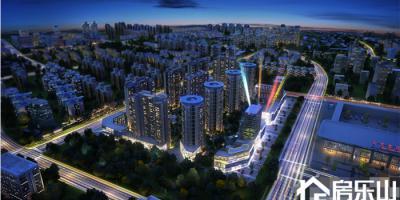 锦绣新城二期写字楼效果图