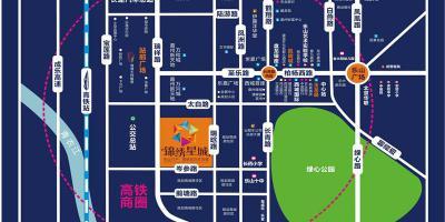 锦绣新城二期写字楼区位图