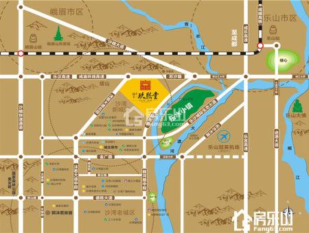银丰玖熙堂区位图