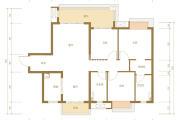 美的珺御府:118平米观璟户型 小住房圆大梦想