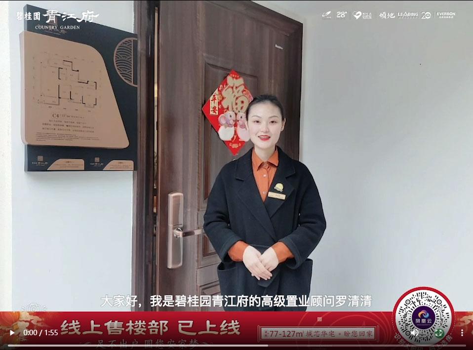 青江府127平4房2厅2卫视频介绍