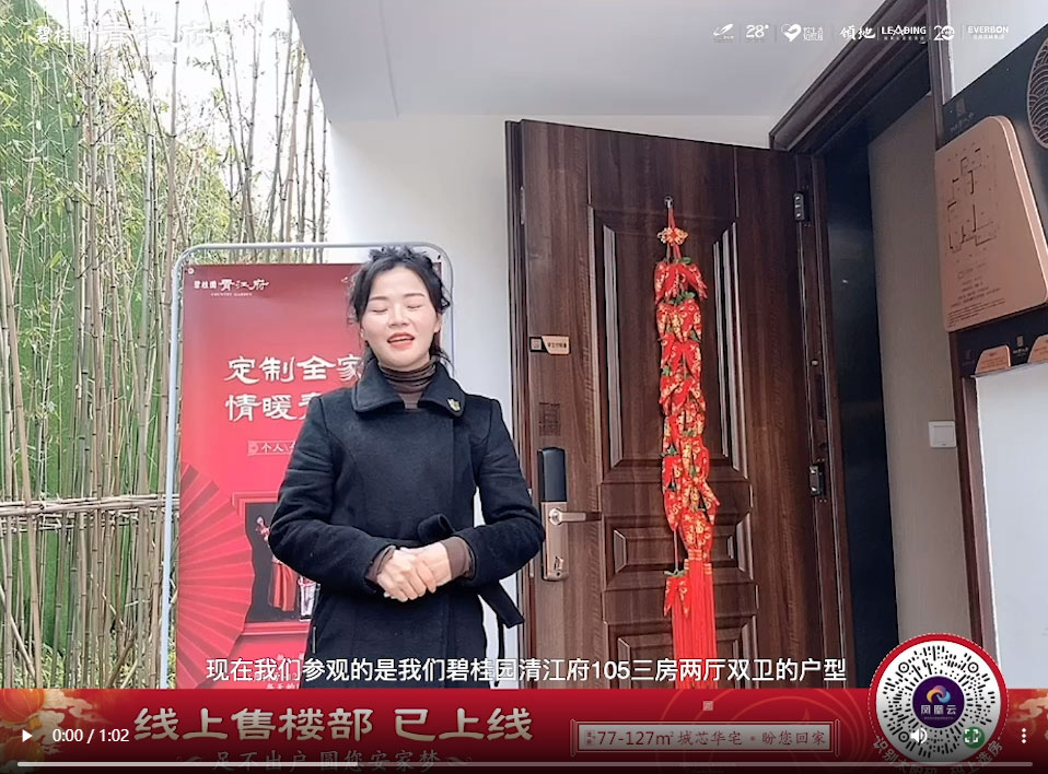青江府105平3房2厅2卫视频介绍