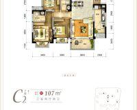 青江府C2户型