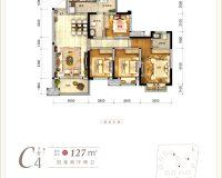 青江府C4户型