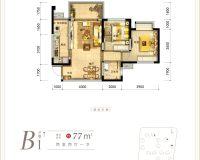 青江府B1户型图