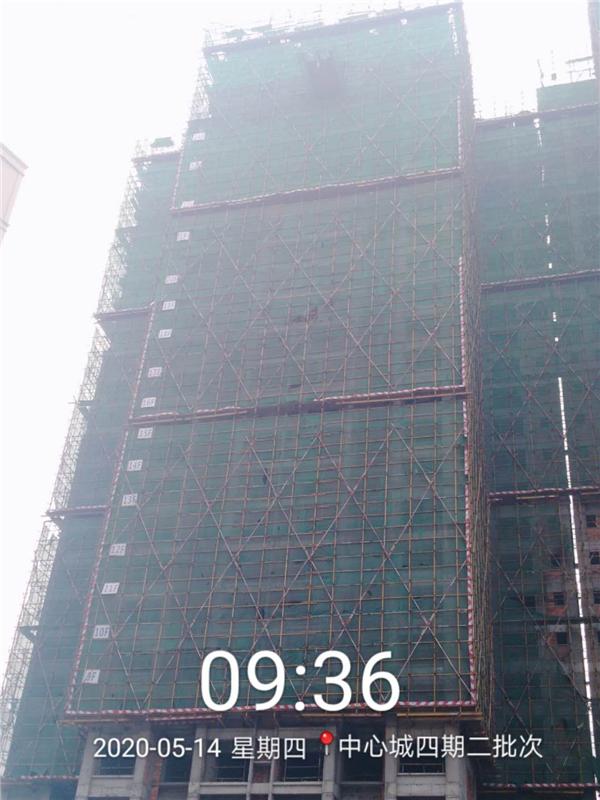 四期3幢30层结构完成