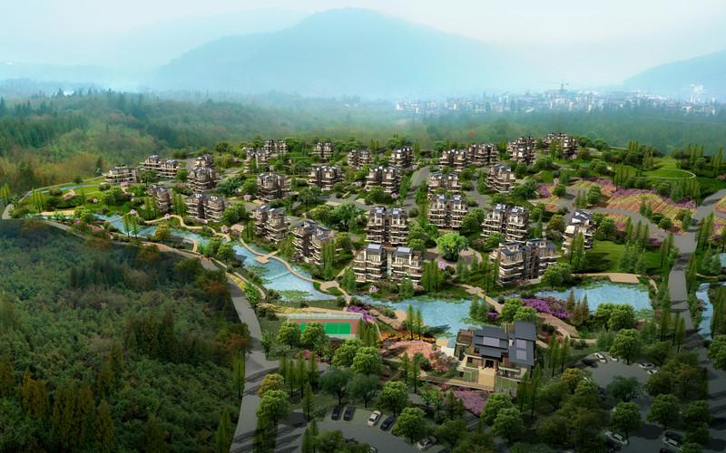 中国眉山七里坪