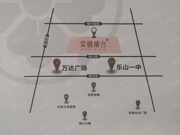 棠樾蘭台区位图