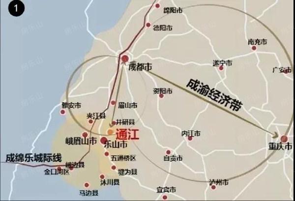 乐山交通图
