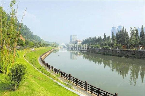 竹公溪实拍图