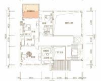 5室2厅1厨7卫B一层户型
