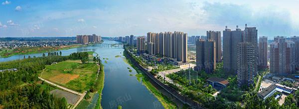 乐山城北实景图