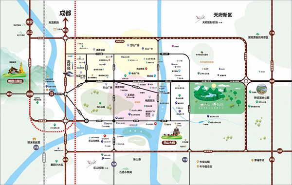 佛光湖海棠别院区位图
