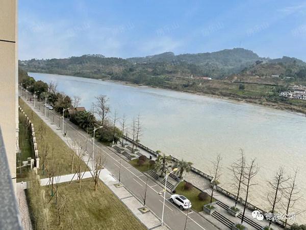滨河景观道实景图