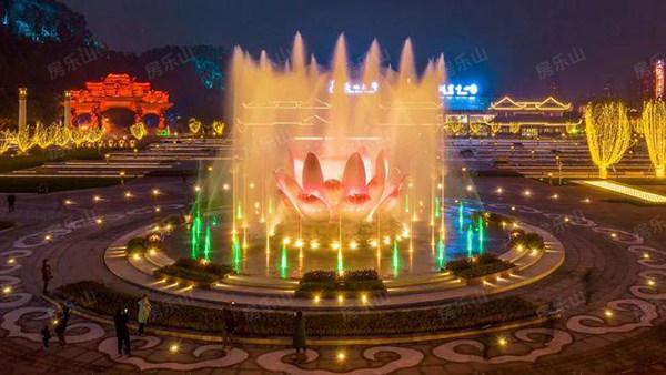 大佛文化广场实景图