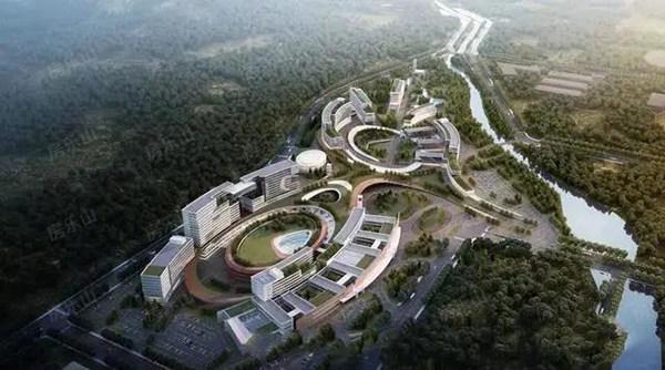乐山新区医院效果图