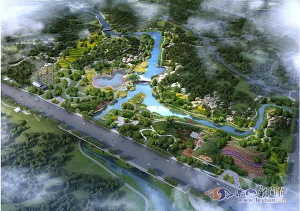 九百洞湿地公园效果图