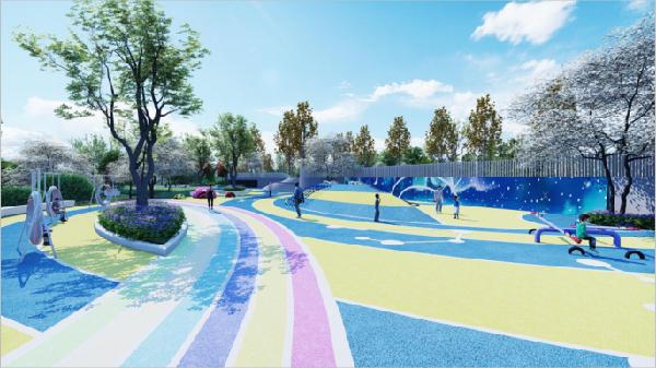 项目儿童乐园效果图