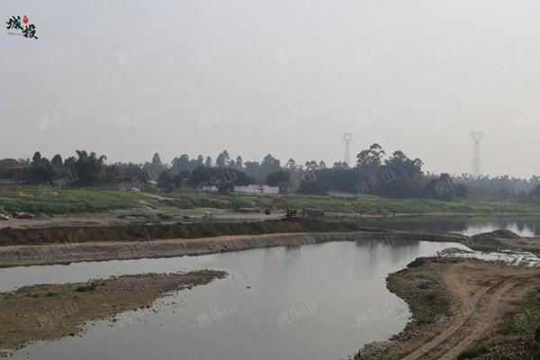 竹公溪现状图
