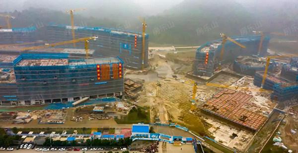 乐山新区医院实景图