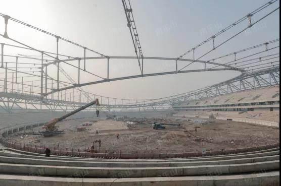 乐山奥体中心实景图