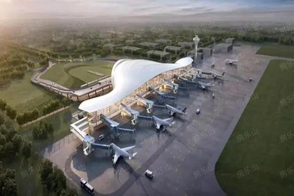 乐山机场效果图