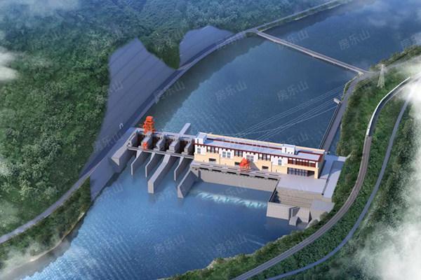 大渡河沙坪一级水电站