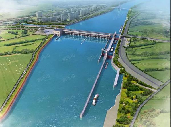 东风岩航电枢纽工程