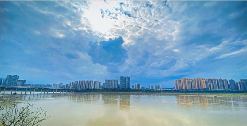 滨江花园城实景图