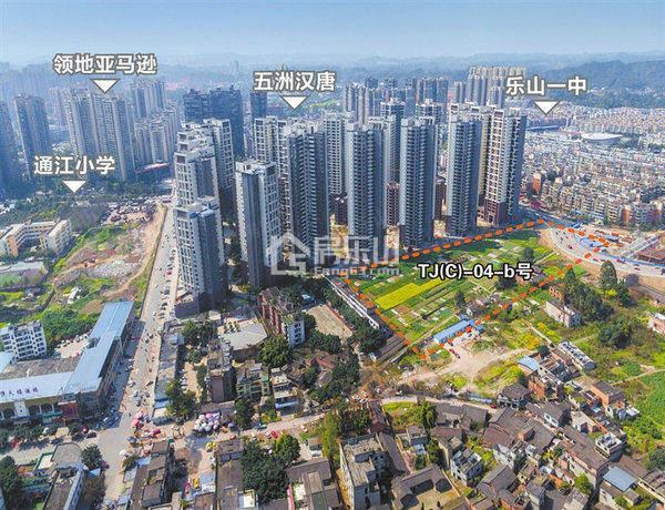 天悦项目拍卖地块位置