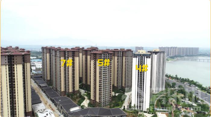 邦泰滨河湾工程进度图