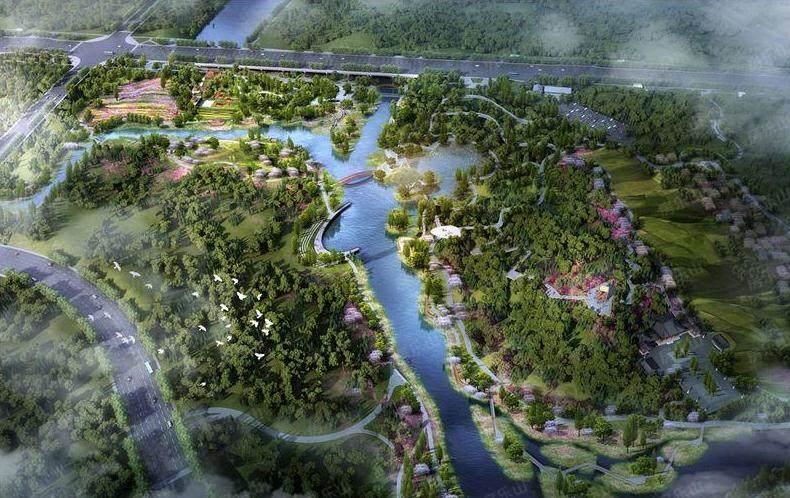 乐山九百洞湿地公园