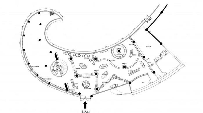 乐山大众书局装修平面布局图