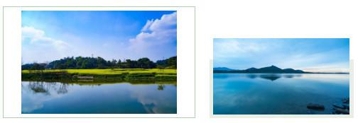 九宾湿地实景图