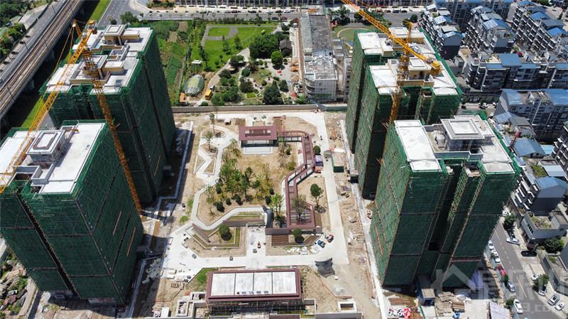 东城丽景8月最新工程进度播报