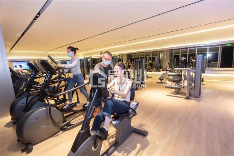 同森锦樾1号售楼部健身房