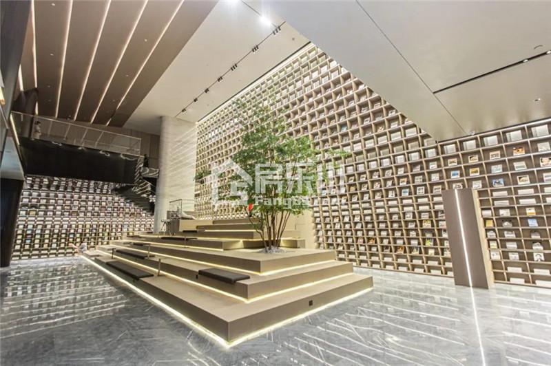 同森锦樾1号售楼部实景图