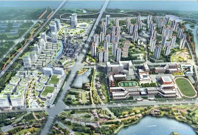 宝德未来科技城效果图