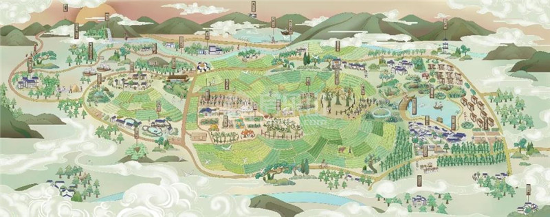 ◎山水田园图