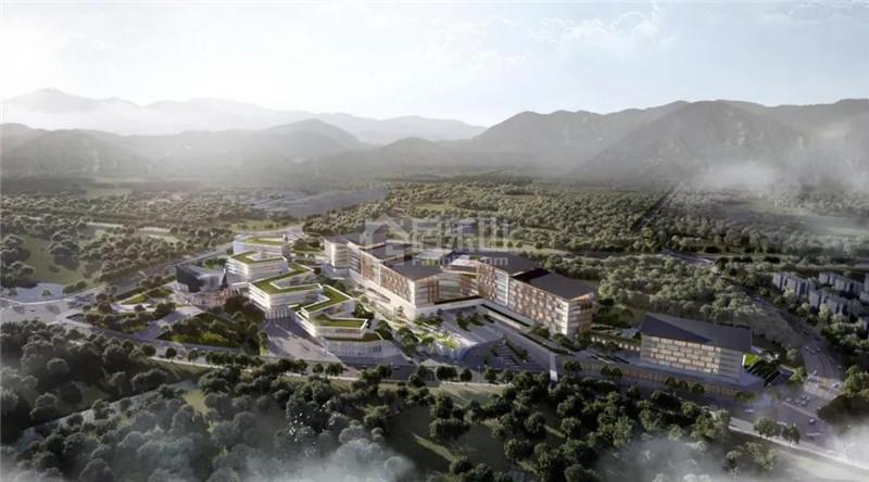 中国峨眉山国际康养中心俯瞰图